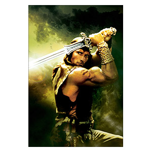 Conan the Barbarian. Размер: 20 х 30 см